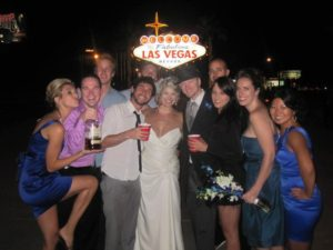 If you go to Vegas and don't see a wedding party, did you really go to Vegas?